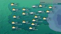 Съществено затопляне през новата седмица