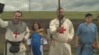 Показват бойни умения на средновековен фестивал във Варненско