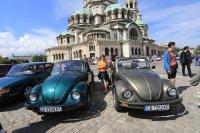 Парад на ретро автомобили в София (Снимки)