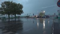 Гръмотевична буря изкорени дървета и повреди покриви на къщи в Унгария