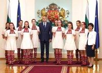 Президентът награди детския радиохор на БНР (Снимки)