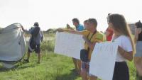 Протест в Синеморец заради свободното къмпингуване