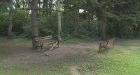 Вандали изпочупиха пейките в Морската градина във Варна