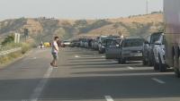 """Отново опашка от чакащи автомобили на ГКПП """"Кулата"""""""