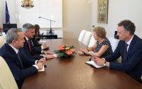 Стефан Янев се срещна с посланика на Нидерландия
