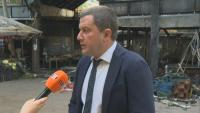 Кметът на Перник за пожара: Работи се по различни версии - от случаен инцидент до умишлен палеж