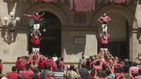 """""""Човешки кули"""" в Испания за първи път след повече от година"""