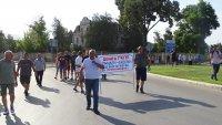 """Жители на Гоце Делчев затвориха пътя към пункта """"Илинден - Ексохи"""""""