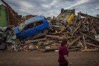 Журналист в Чехия: Торнадото е продължило от 3 до 5 минути