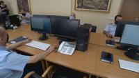Специално: Екип на БНТ влезе първи в Центъра по сигнали за изборни нарушения