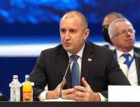 Румен Радев: Високо ценим подкрепата на САЩ, Германия и ЕК