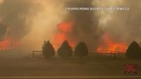 90% от канадско село са изпепелени в горски пожар