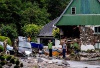 снимка 4 Унищожителни наводнения в Германия (Снимки)