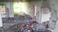Дворът и сградата на бивше училище в Русе са превърнати в бунище