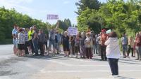 Протест в русенското село Сваленик заради лошото състояние на пътищата в района