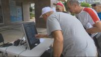 Пробно машинно гласуване се провежда в Ямболска област