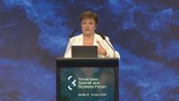Кристалина Георгиева: Най-накрая се вижда светлина в тунела на икономическата ситуация