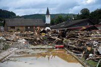 снимка 15 Унищожителни наводнения в Германия (Снимки)