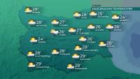 С още 2-3 градуса ще се понижат температурите утре