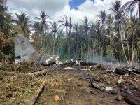 Военен самолет с 92 души на борда катастрофира във Филипините