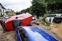 снимка 13 Унищожителни наводнения в Германия (Снимки)