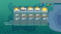 Предимно слънчево ще бъде в следващите дни