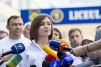 След парламентарните избори в Молдова: Партията на президентката Санду печели вота