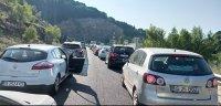 Опашка от румънци на ГКПП Маказа за влизане в Гърция