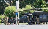 Американски военен хеликоптер кацна аварийно в центъра на Букурещ