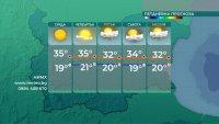 Захлаждане в края на седмицата, до 39 градуса в сряда и четвъртък
