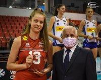 Ива Дудова бе избрана за най-добър диагонал на Европейското за девойки U16