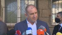 Радев: Гласувах за България, в която гражданите живеят достойно