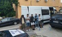 Петима нелегални мигранти са задържани на Дунав мост Русе - Гюргево