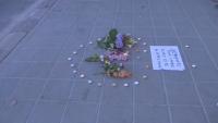 Мълчалив протест в село Братаница, където полицай блъсна и уби дете на пешеходна пътека