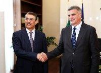Стефан Янев се срещна с посланика на Катар