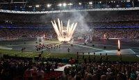 Закриха Евро 2020 със стилна церемония (Снимки)
