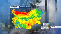 Жълт код за опасно горещо време