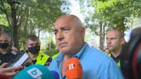 Бойко Борисов след разпита в МВР (Обзор)