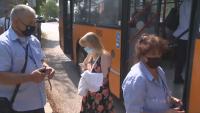 Масови проверки в градския транспорт в София за неносене на маски