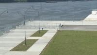 Термичен ад на новия бетонен кей в Русе