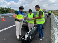 """АПИ: Маркировката в ремонтирания участък на АМ """"Тракия"""" гарантира безопасността на движението"""