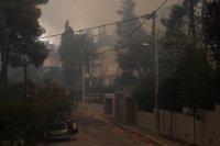 снимка 4 Разследват умишлен палеж на горски пожар край Атина