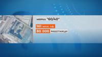 Служебният кабинет отпуска още 160 млн. лв. по мярката 60 на 40