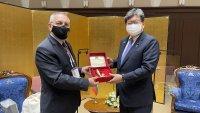 Андрей Кузманов се срещна в Токио с министъра на образованието на Япония