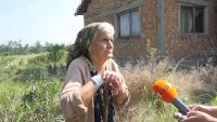 Възрастна жена живее 5 години без ток