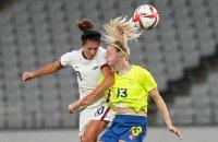 снимка 1 Звездите от футболния тим на САЩ с поражение срещу Швеция