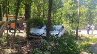 Катастрофа блокира движението между Приморско и Бургас