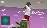 Ден 3: Стрелба (финал, 10 м пистолет) с участието на Антоанета Костадинова