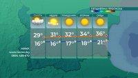 Слънчево време, температурите ще се повишават още