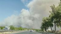 Разследват причините за големия пожар в Анталия